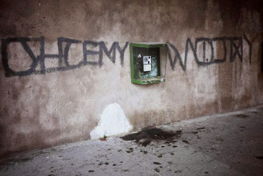We Want War, Puławska St., Warsaw, 1984, photo: T. Sikorski
