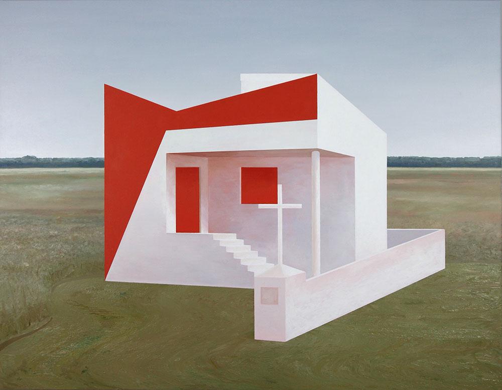 Andrzej Tobis, Rzeźba Dom Polski (Polish House Sculpture), 2014, photo: courtesy of the artist