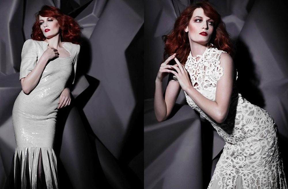 Florence and the Machine, August 2011,Photographer: Karl Lagerfeld//www.karl.com