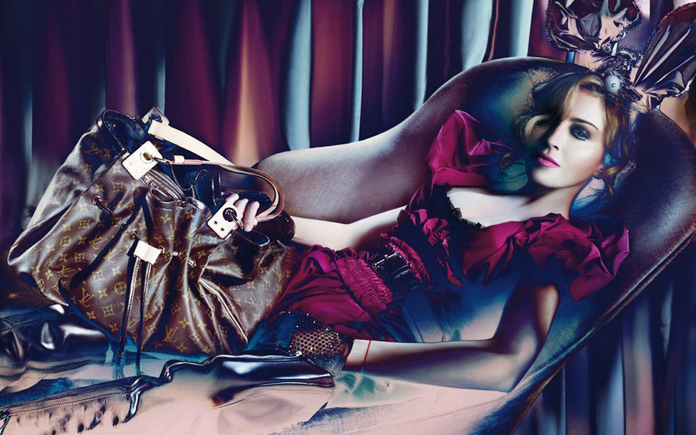 Madonna for Louis Vuitton, 2009, photo: Steven Meisel