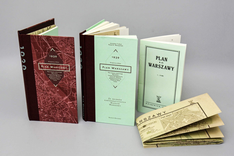 Plan Miasta Stołecznego Warszawy Książnicy-Atlas, wyd. Muzeum Warszawy, Warszawa 2015, fot. dzięki uprzejmości Muzeum Warszawy