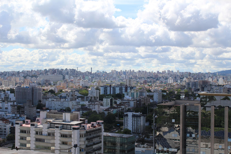 View of Porto Alegre, Brazil, photo: Rafaela Pechansky