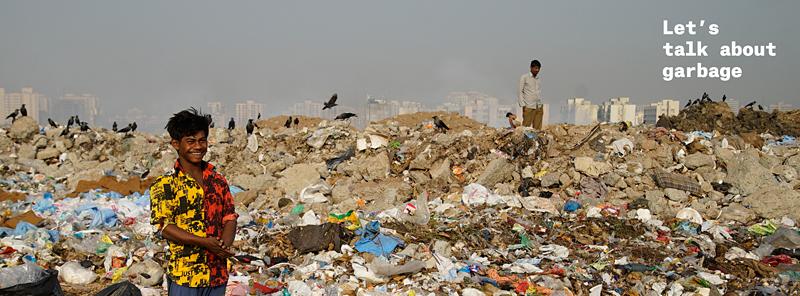 """Hugon Kowalski i Marcin Szczelina, """"Let's talk about garbage"""", fot. materiały prasowe / źródło: www.letstalkaboutgarbage.com"""