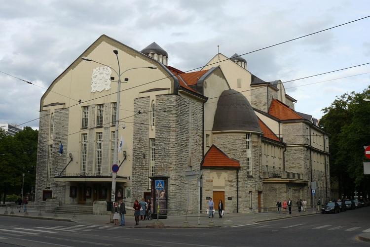 Estonian Dramatic Theatre in Tallinn, photo: Balticroute