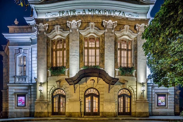 The Adam Mickiewicz Theatre in Cieszyn, photo:, Wojciech Wendzel