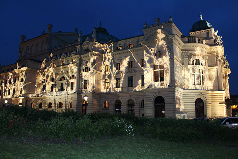 The Juliusz Słowacki theatre in Kraków, photo: promotional materials