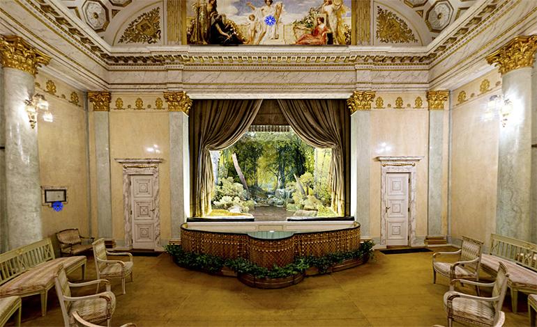 Zamek (Castle) Theatre in  Łańcut, photo: virtual tour materials from the Łańcut Museum website.