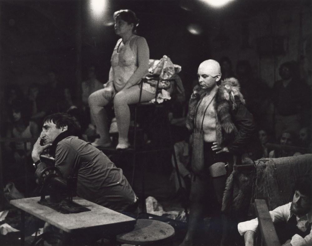 """""""Kurka wodna"""",Cricot 2, Edynburg 1972, fot. Richard Demarco"""