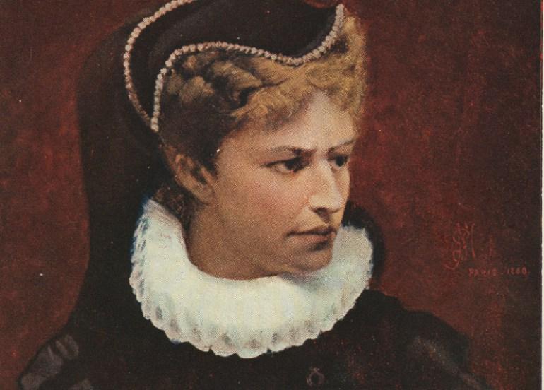 Paul Merwart, Helena Modrzejewska, 1880, fot. ze zbiorow Muzeum Historycznego Miasta Krakowa  / Forum