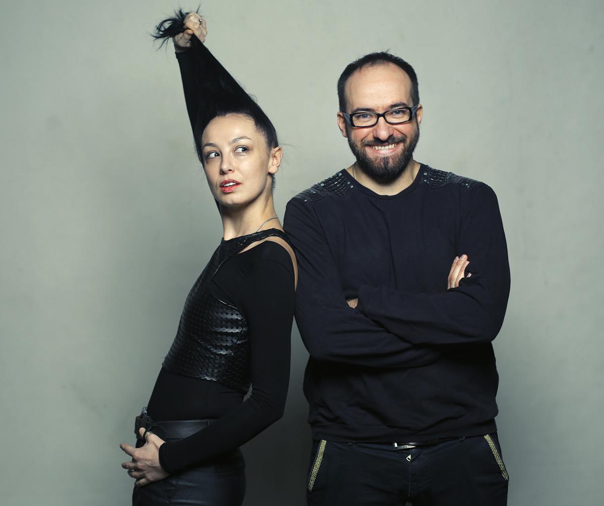 Jolanta Janiczak i Wiktor Rubin, fot. Leszek Zych