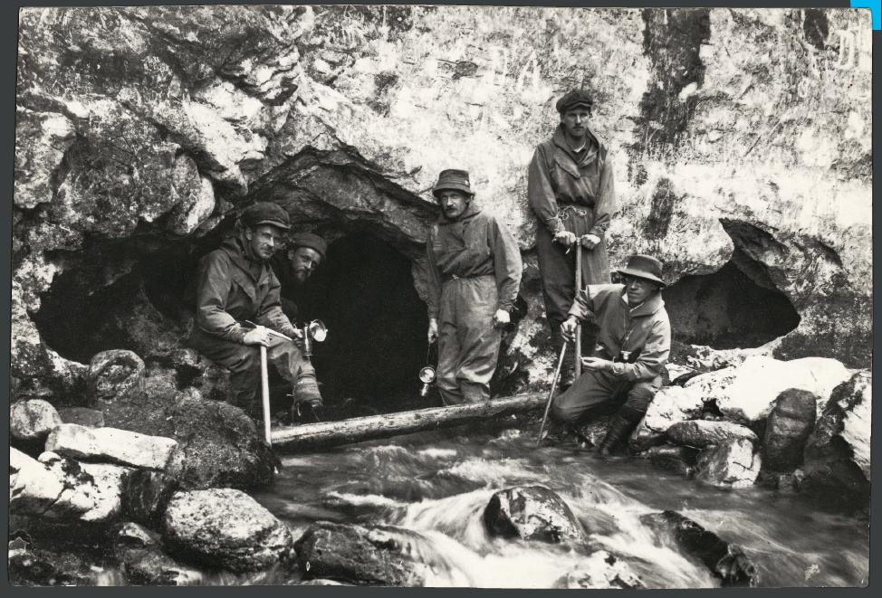 Wyprawa do Jaksini pod Pisaną w 1923r. fot. Stefan Zwoliński