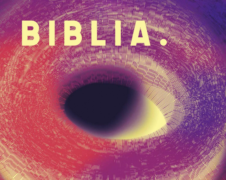 Фрагмент плаката к спектаклю «Библия» М. Задары, 2017, фото: Новый Театр в Варшаве