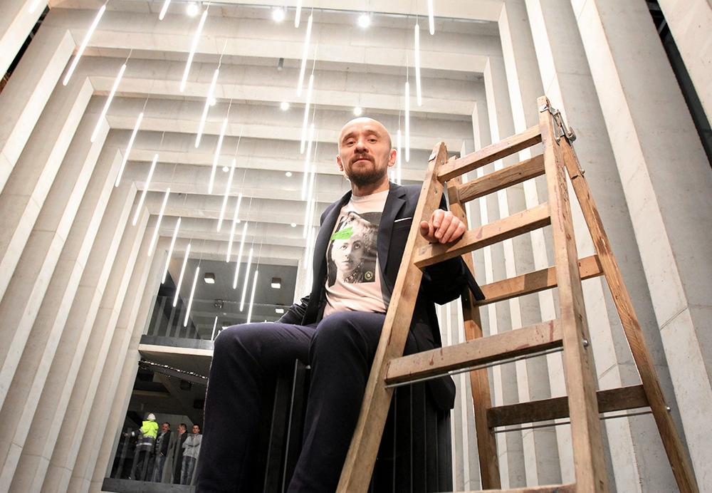 Jan Klata, Otwarcie CSK w Lublinie, 2015, fot. Jakub Orzechowski/AG