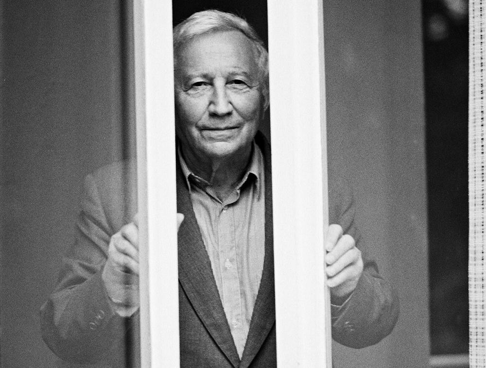 Tadeusz Różewicz, 1992, photo: Friedrich, Brigitte / Sueddeutsche Zeitung Photo / Forum