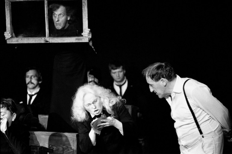 "Window from a performance of ""Dead Class"", 