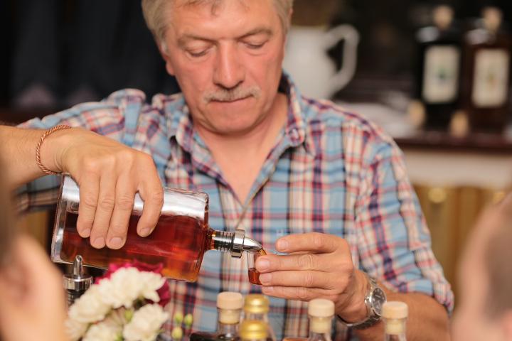 Hieronim Blazejak, the fruit liquor and cider manufacturer, photo: IAM