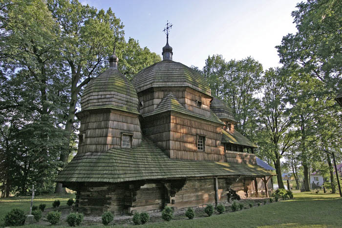 Tserkva of the Birth of the Blessed Virgin Mary in Chotyniec, photo: National Heritage Institute