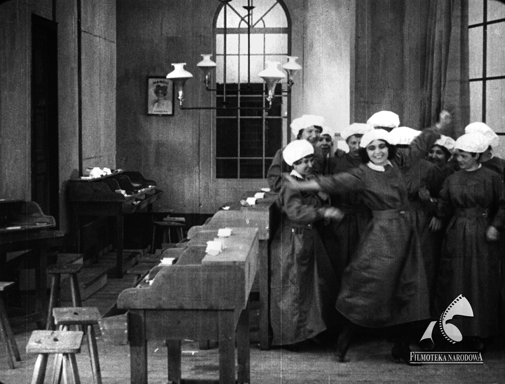"Still from ""Mania"", 1918, courtesy of Filmoteka Narodowa"