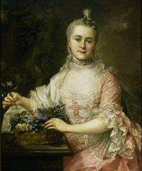 Portret Anny ze Scypionów Szaniawskiej 1874, olej na płótnie, 95,5x76, foto. Ewa Gawryszewska w zbiorach Muzeum Narodowego w Warszawie