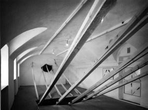 Rzut kolumny Galeria Laboratorium CSW Warszawa 1993