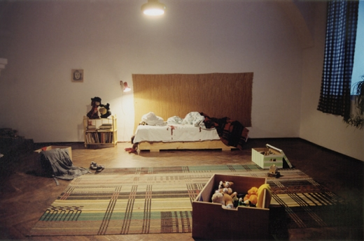 Untitled, installation, Biala Gallery, 2002
