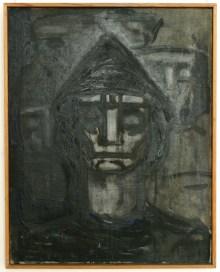 Autoportret (1952) olej, płótno, 75x59,5 cm w zbiorach Muzeum Narodowego we Wrocławiu fot. pracownia fotograficzna MNWr