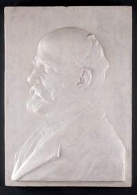 Portret doktora Henryka Jordana 1914, gips dzięki uprzejmości Muzeum Narodowemu w Krakowie