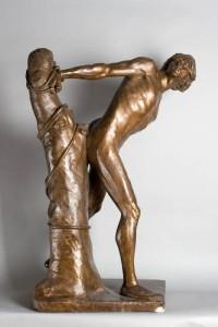 Niewolnik 1885, gips dzięki uprzejmości Muzeum Narodowemu w Krakowie