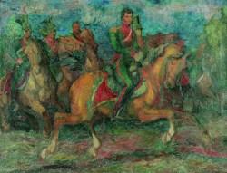 Mój pradziadek (1937) olej, płótno, 101x132,8 cm w zbiorach Muzeum Narodowego we Wrocławiu fot. pracownia fotograficzna MNWr