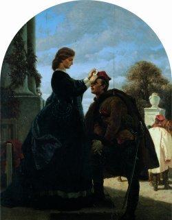 Rok 1863; Pożegnanie Powstańca 1865-66, dyptyk, olej na płótnie dzięki uprzejmości Muzeum Narodowemu w Krakowie