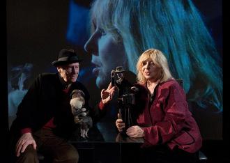 Jolanta Lothe i Piotr Lachmann, listopad 2010, fot. Marek Dusza