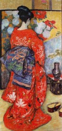 Japonka 1908, olej na płótnie dzięki uprzejmości Muzeum Narodowemu w Krakowie