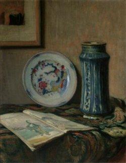 Martwa natura z ceramiką 1907, olej na płótnie w zbiorach Muzeum Narodowego w Warszawie