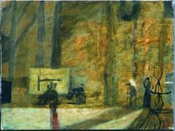 L'Arlesienne (ok. 1953) olej, płótno, 46x61 w zbiorach Muzeum Narodowego we Wrocławiu fot. pracownia fotograficzna MNWr