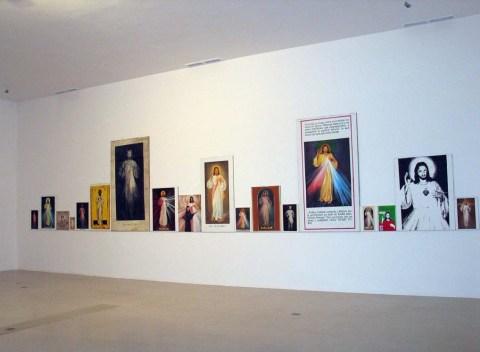 """Karol Radziszewski, """"Ufam Tobie"""", 2004, CSW Zamek Ujazdowski, Warszawa"""