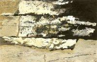 z cyklu W kręgu architektury drewnianej 2000, olej, dykta