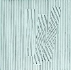 """Henryk Stażewski, """"Kompozycja 22"""" (1979),  akryl, płyta pilśniowa, 100,5x100,5 w zbiorach Muzeum Narodowego we Wrocławiu fot. pracownia fotograficzna MNW"""