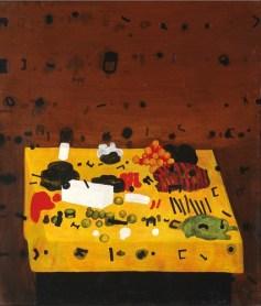 """Jan Tarasin, """"Przedmioty policzone"""", 1974, 115 x 100,5 cm, fot. dzięki uprzejmości Galerii aTAK, prace z kolekcji Krzysztofa Musiała"""