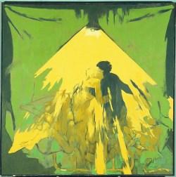 Eros/Agape z cyklu Pieta w trójnasób (1980) olej, płótno, 140x140 cm w zbiorach Muzeum Narodowego we Wrocławiu fot. pracownia fotograficzna MNWr