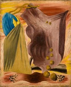 Abstrakcja w przestrzeni (1930), olej, płótno, 65x54 cm w zbiorach Muzeum Narodowego we Wrocławiu fot. Arkadiusz Podstawka