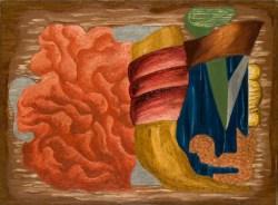 Kompozycja romantyczna (1930), olej, płótno, 54x73 cm w zbiorach Muzeum Narodowego we Wrocławiu fot. Arkadiusz Podstawka