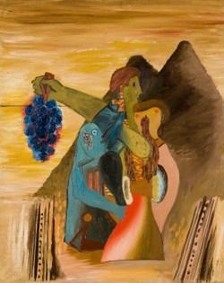 Miłość, wiara i nadzieje w górach (1931), olej, płótno, 92x73 cm w zbiorach Muzeum Narodowego we Wrocławiu fot. Arkadiusz Podstawka