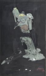 Czułostkowi. Zuzanna i starcy 1904, akwarela, tusz, gwasz, kredka, papier dzięki uprzejmości Muzeum Narodowego w Krakowie