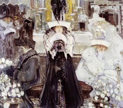 Medytacje 1908, tempera na płótnie dzięki uprzejmości Muzeum Narodowego w Krakowie