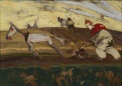 Orka 1905, olej na płótnie, fot. E. Gawryszewska w zbiorach Muzeum Narodowego w Warszawie