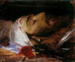 Głowa Chrystusa 1882/1883, olej na tekturze dzięki uprzejmości Muzeum Narodowego w Krakowie