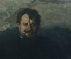 Portret Jana Kasprowicza 1898, olej na płótnie dzięki uprzejmości Muzeum Narodowego w Krakowie