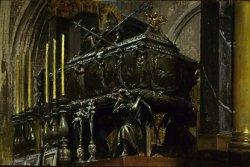 Sarkofag św. Stanisława Biskupa 1907 fot. T. Żółtowska-Huszcza w zbiorach Muzeum Narodowego w Warszawie