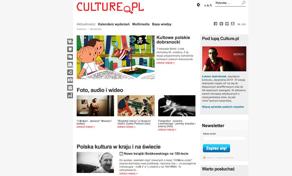 Culture.pl, 2012