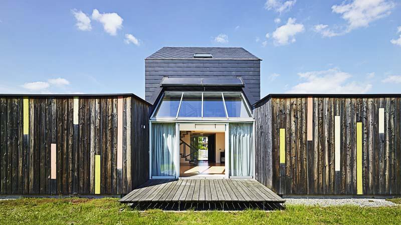 Ecological House, Łąka near Pszczyny, 2009, designed by Piotr Kuczia, photo: Juliusz Sokołowski
